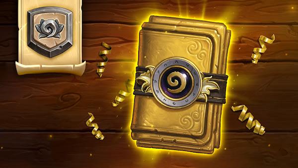 《爐石戰記》經典規則今(26)日正式上線!登入即可免費領取一包黃金經典卡牌包!