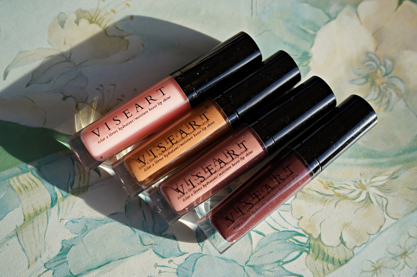 Viseart Moisture Boost Lip Shine swatches