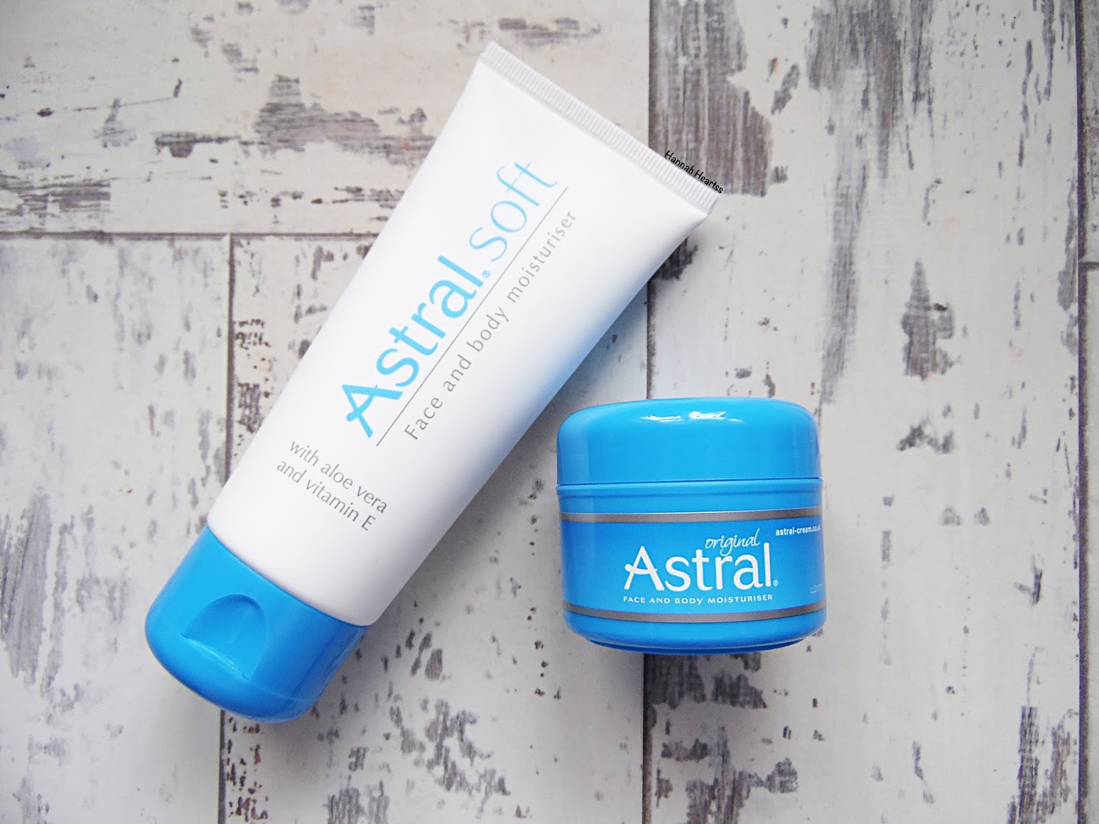 Astral Face & Body Moisturisers