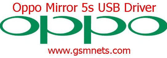 Oppo Mirror 5s USB Driver Download