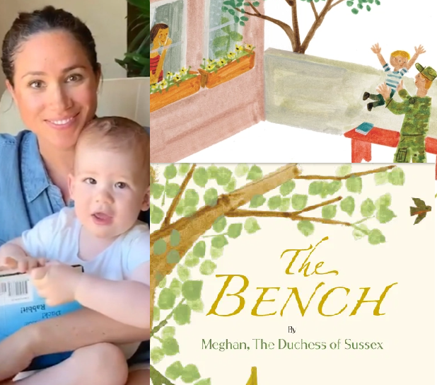 Meghan Markle writes sentimental children's book about sons' relationship with their fathers inspired by Harry and Archie