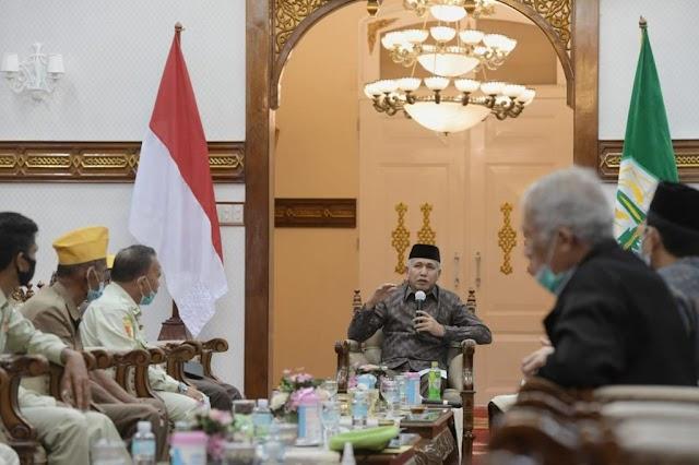 Gubernur Aceh Terima Kunjungan Legiun Veteran