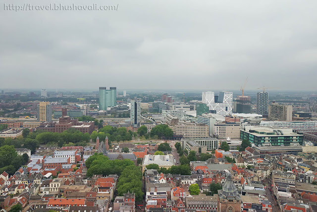 View from Domtoren Dom Tower Utrecht
