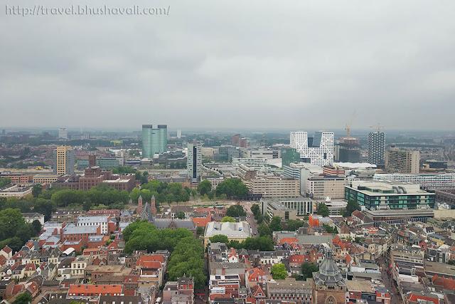 View from Domtoren Dom Tower Utrecht