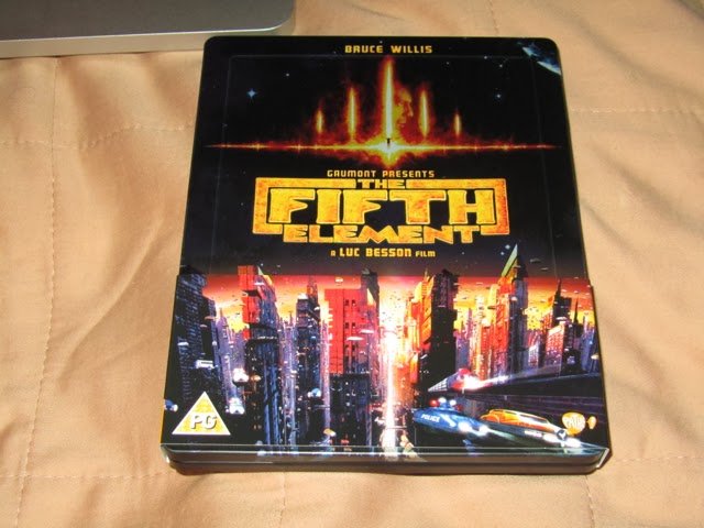 Rafa Collection The Fifth Element Limited Edition Steelbook BD UK