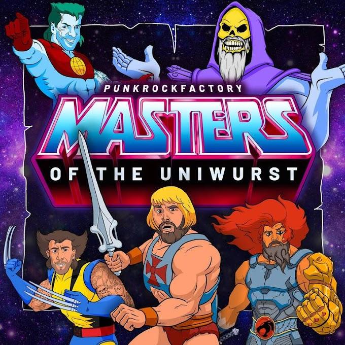 "Punk Rock Factory stream new album ""Masters Of The Uniwurst"""