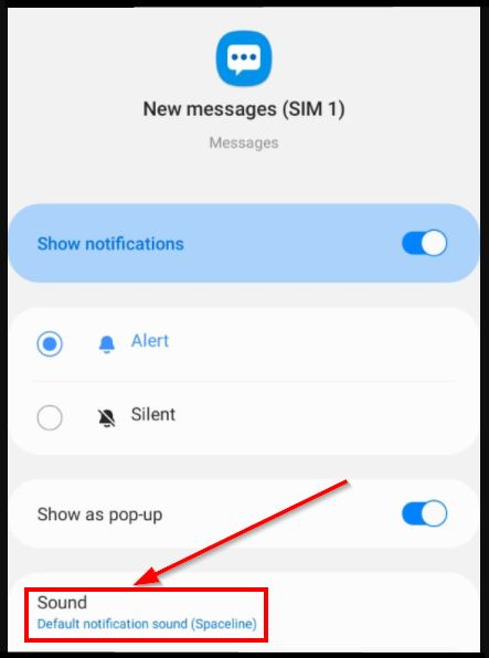 ganti nada dering sms android