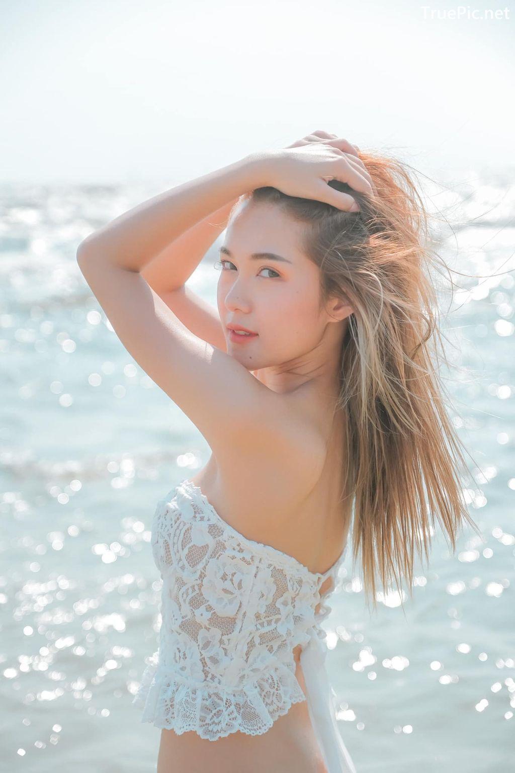 Image-Thailand-Model-Pitcha-Srisattabuth-White-Lace-Bikini-TruePic.net- Picture-1