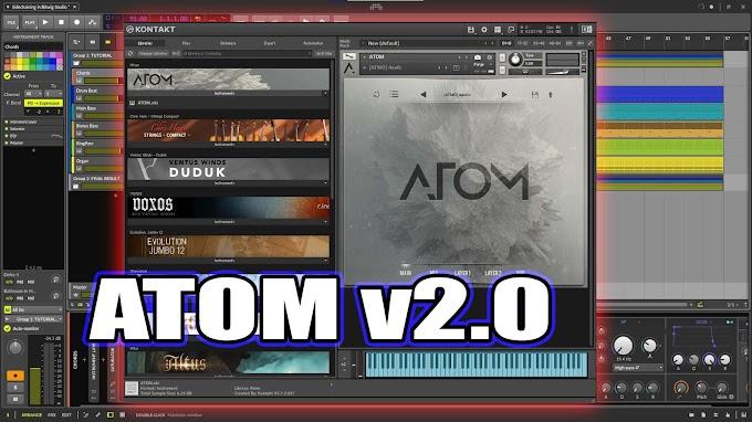 ATOM v2.0 by Audiomodern kontakt