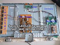 Service center TV Samsung LG Panasonic Sharp Polytron Coocaa Toshiba Gading Serpong Tangerang