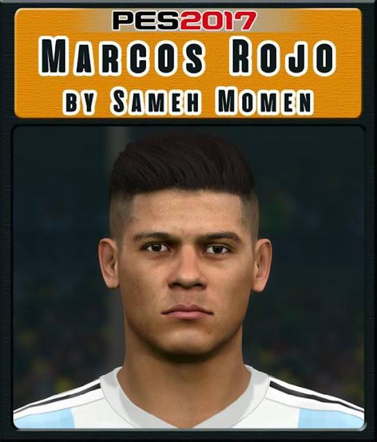 Marcos Rojo Face PES 2017