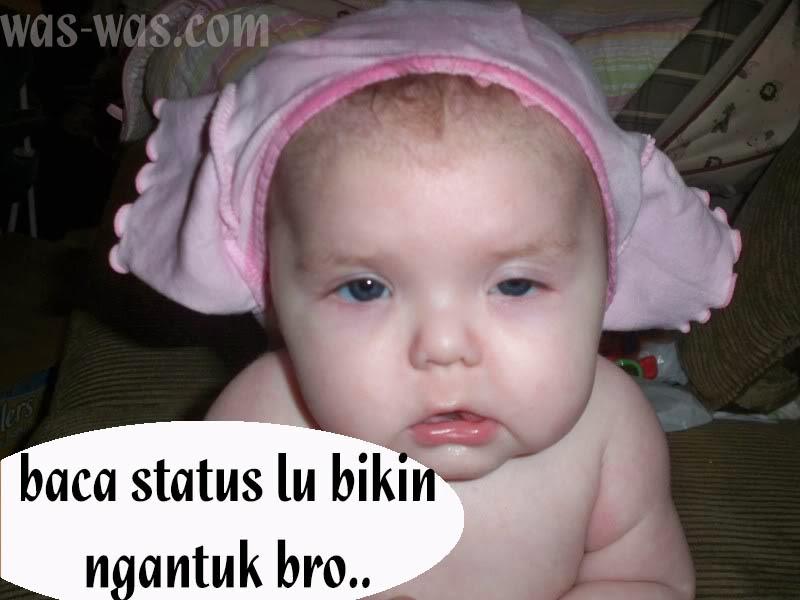 Meme Bayi Lucu Imut Bikin Ngakak Untuk Update Status Facebook ...