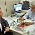 Vereador Juca Muniz se reuniu com Diretor da Embasa para tratar da falta d'água no município