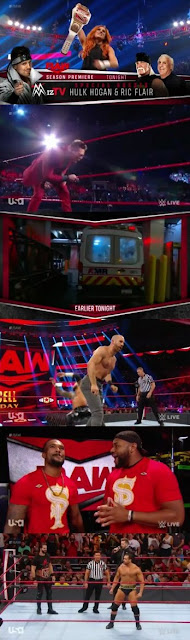 Download WWE Monday Night Raw 30th Sep 2019 Full Episode HD 360p || Moviesda 1