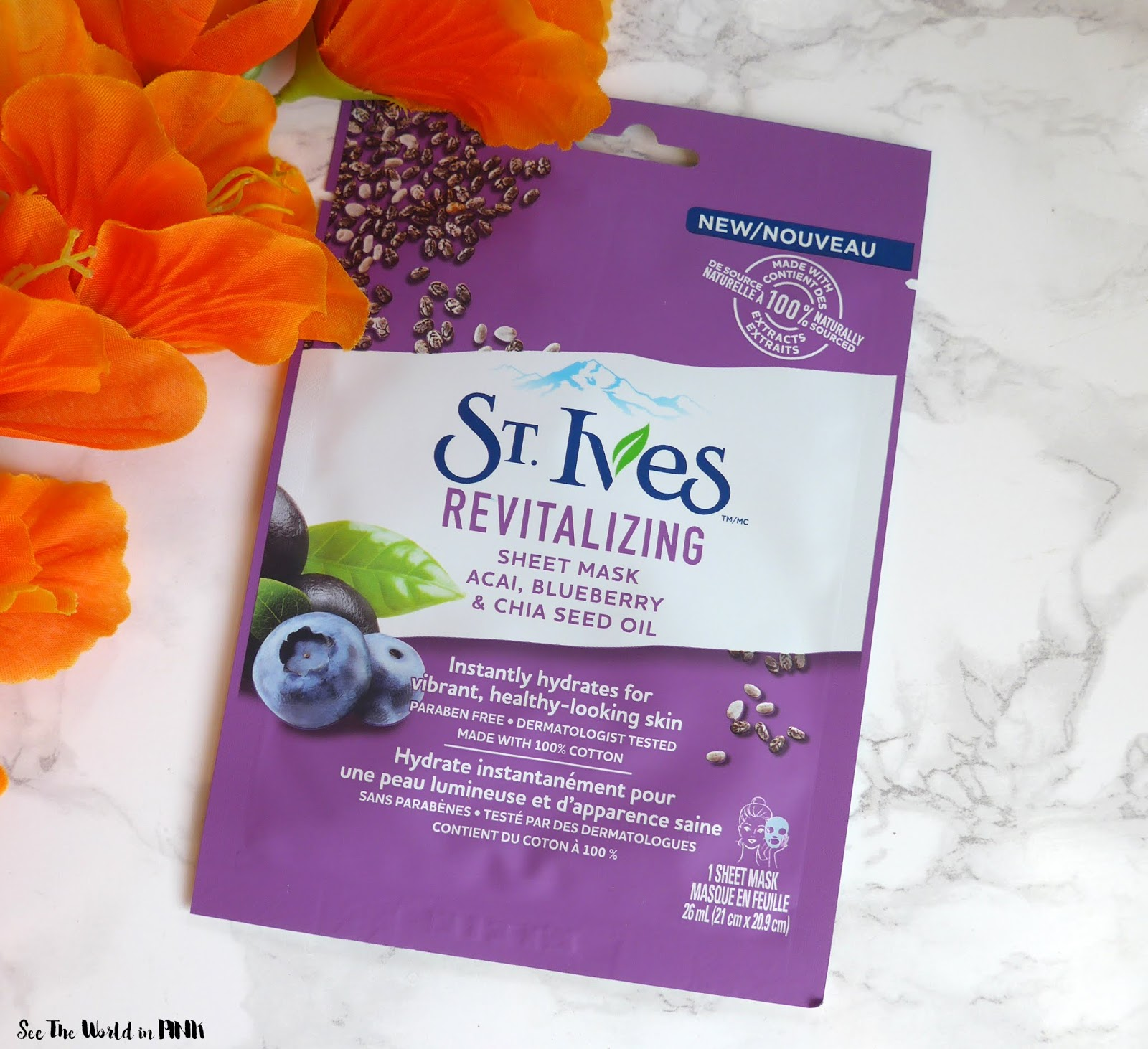 Skincare Sunday - St. Ives Revitalizing Acai & Glow Apricot Sheet Masks