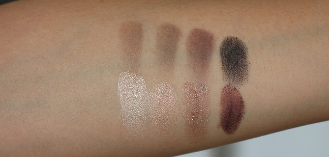 Stowaway Cosmetics The Essential Eye Palette Review Swatch