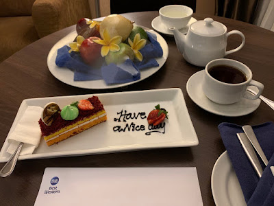 Desert for Diamond Select member of the Best Western Rewards