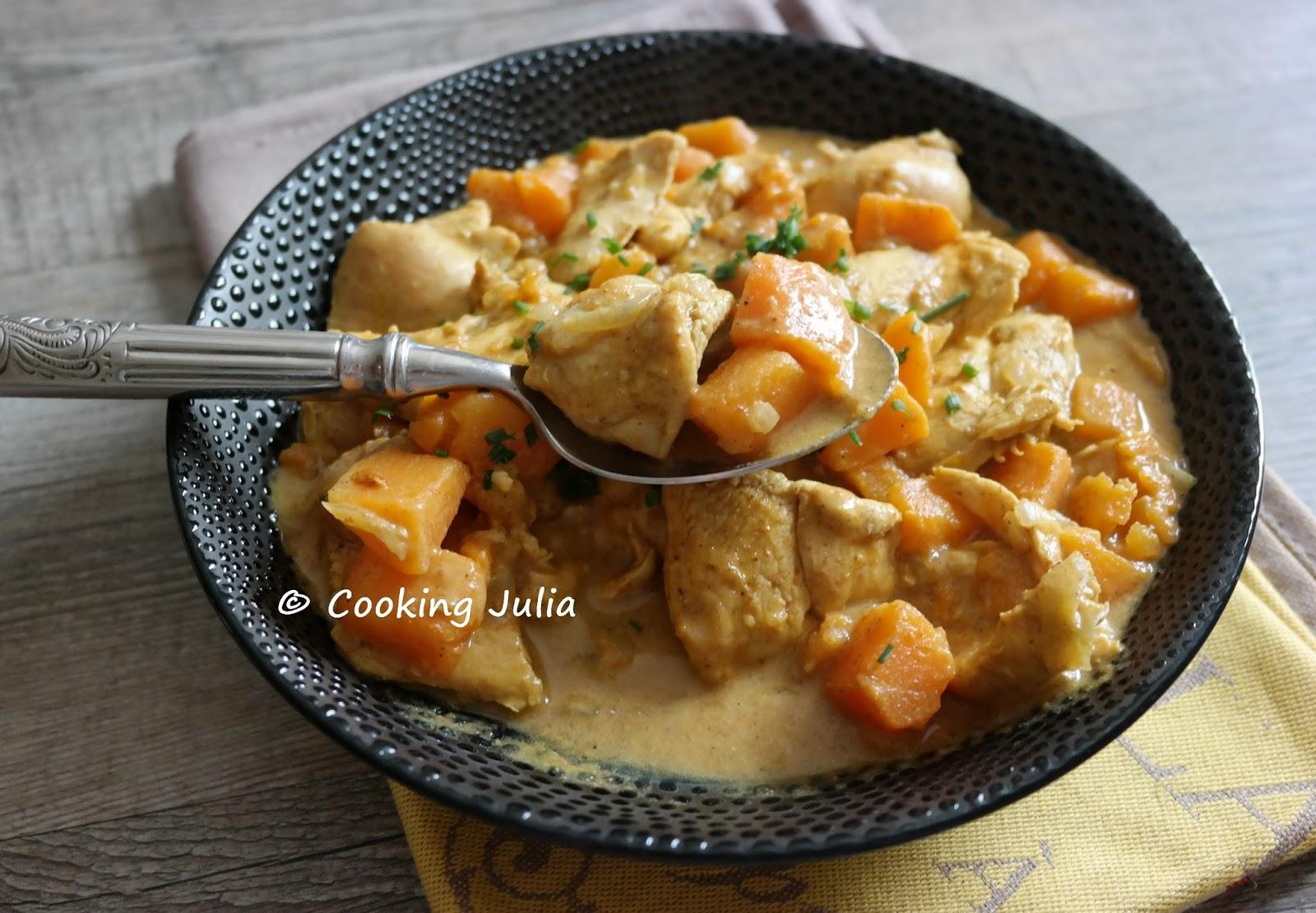 de la patate douce, mais on peut la remplacer par des carottes, des  pommes de terre ou, pourquoi pas, du brocoli ou des épinards (à ajouter  seulement en