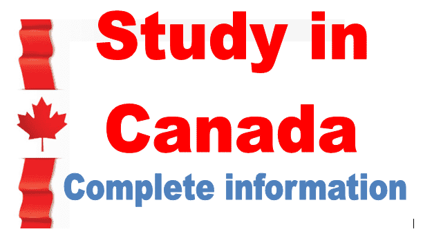 study in canada for pakistani students information 2020-21