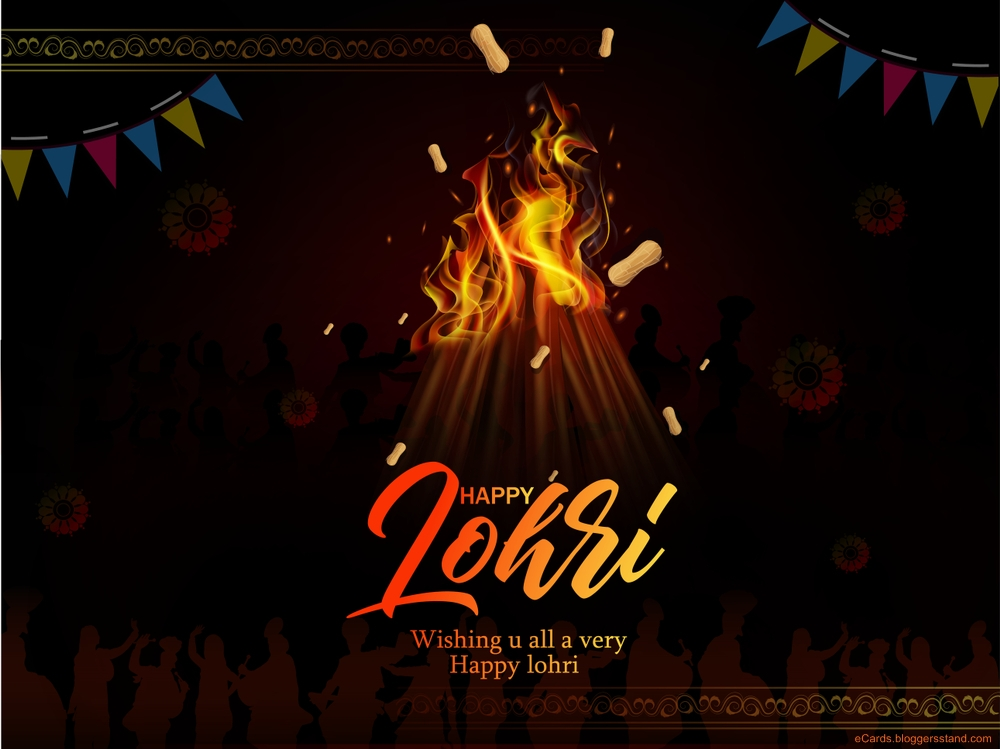 Happy lohri best wishes messages, quotes, pictures, images, facebook cover, whatsapp story updates, Lohri message in hindi, english, lohri festival greeting cards 2021