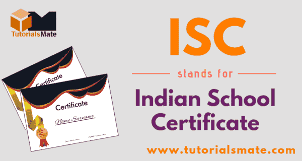 ISC Full Form