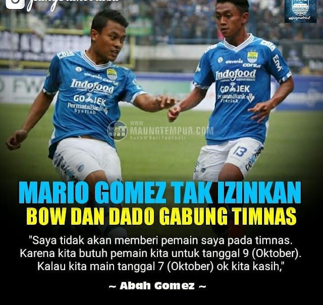 Mario Gomez : Tidak Izinkan Pemainnya Bermain Di Timnas