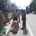 Ratusan Pelanggar Protokol Kesehatan di Samosir Mendapat Tindakan Tegas dari Petugas