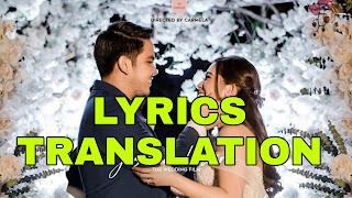 Ikaw At Ako Lyrics Meaning/Translation in English - Moira and Jason