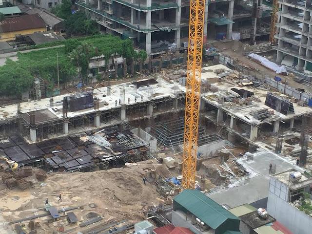 Tiến độ thực tế chung cư Rivera park Hà Nội