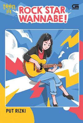 novel rock star wannabe! karya put rizki