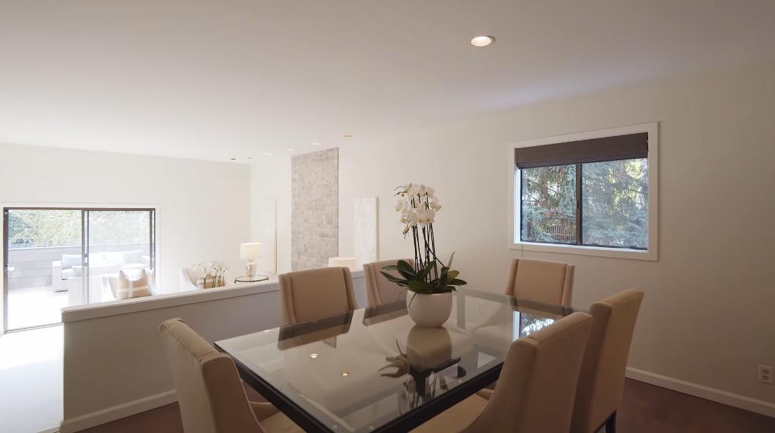 24 Interior Design Photos vs. 2158 Sand Hill Rd, Menlo Park, CA Luxury Townhome Tour