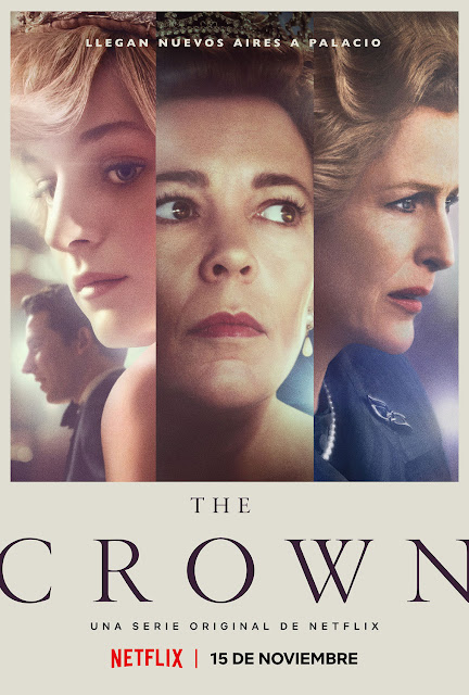 Cartel The Crown Temporada 4