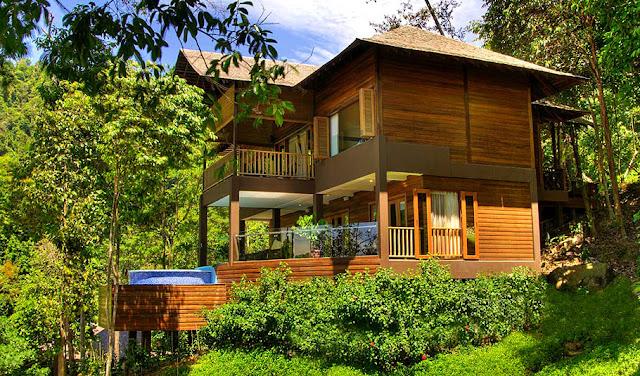 Eco rainforest resorts Malaysia