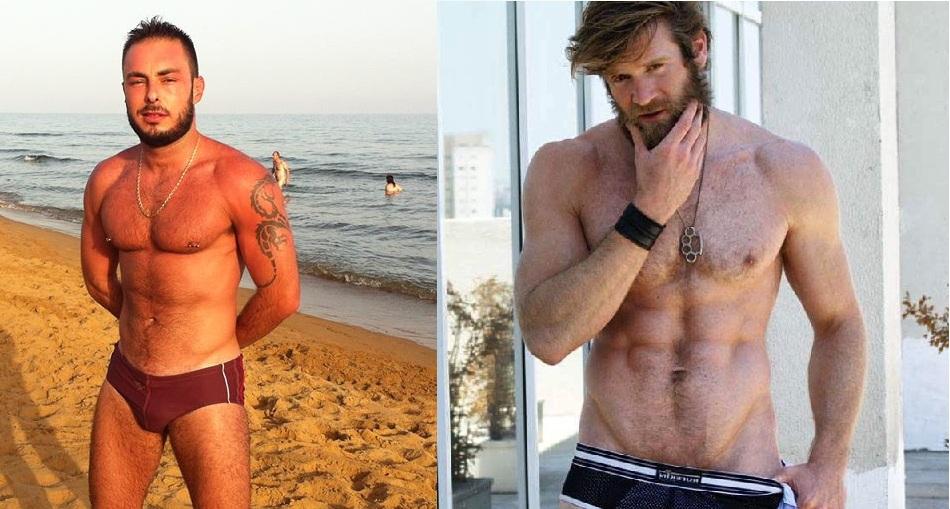 Gratis gay porno attraente maschio