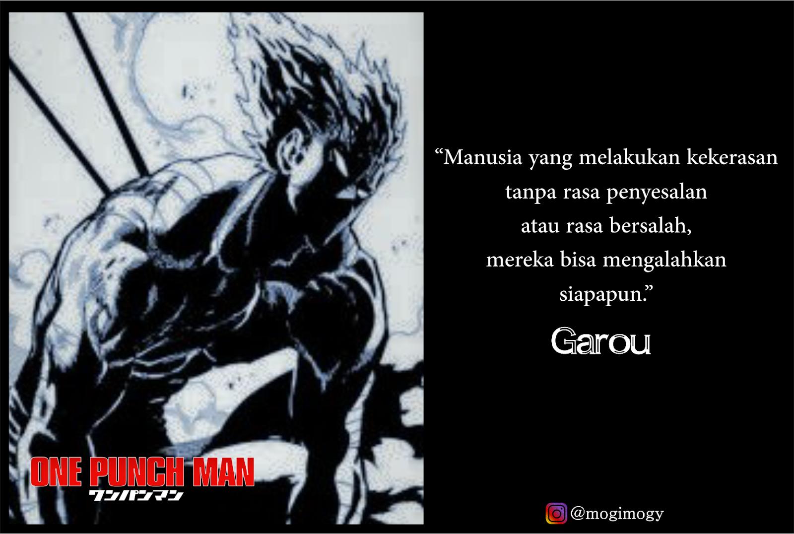 Garou One Punch Man Quotes Dowload Anime Wallpaper Hd