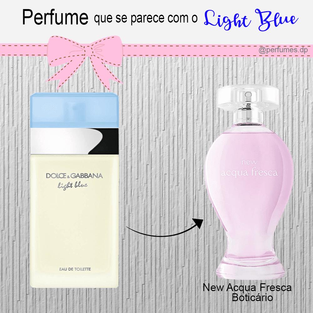 Perfume parecido com o Light Blue