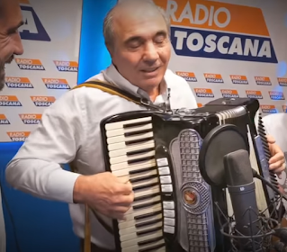 Commisso still has the accordion skills that helped him progress after arriving in New York