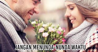 Jangan menunda-nunda waktu merupakan salah satu syarat agar saat menyatakan cinta tidak terkesan awkward