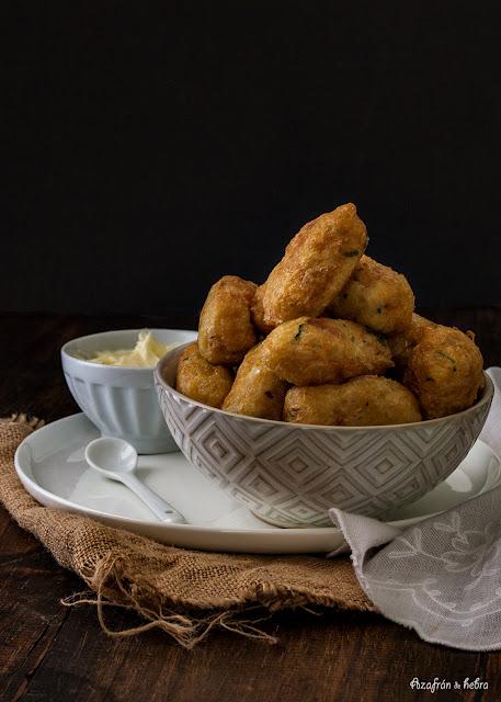 Albóndigas de bacalao valencianas/Mondonguilles