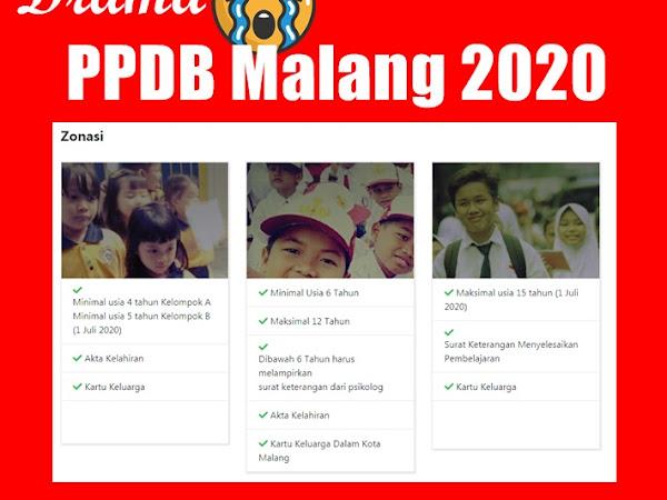 Drama PPDB Malang 2020