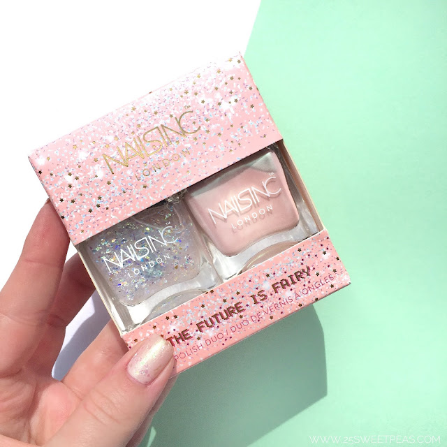 Nails Inc The Future is Fairy Duo