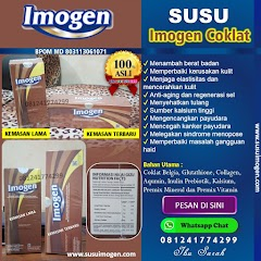 Kemasan Terbaru Imogen Coklat 375 g penggemuk badan Jangan Salah Beli