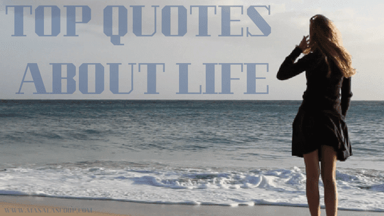Top Quotes About Life ? Here comes the Sweetest of it all you have been waiting for.