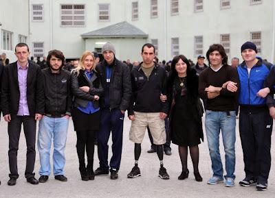 რეკორდების ფედერაციის შეხვედრა პატიმრებთან