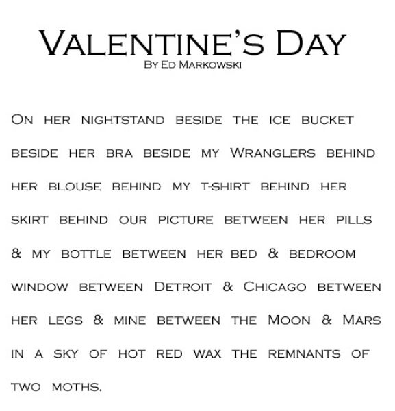 Sexy love poems for your man