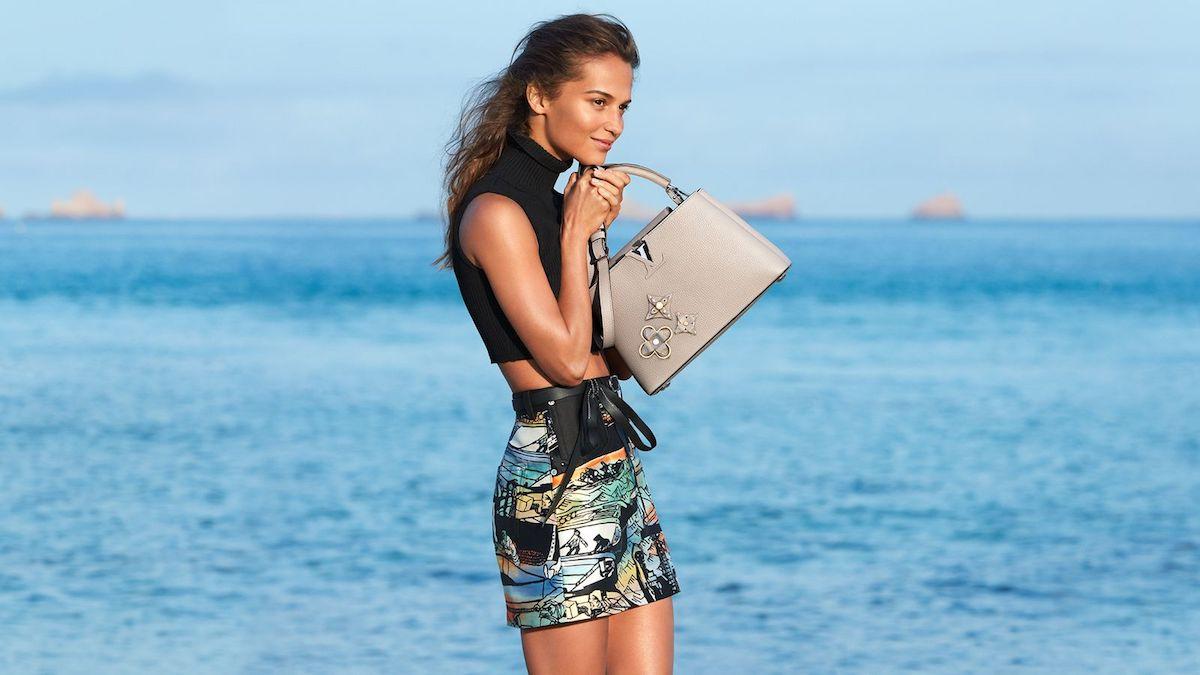 Louis Vuitton's Cruise 2018 Ad Campaign Starring Alicia Vikander