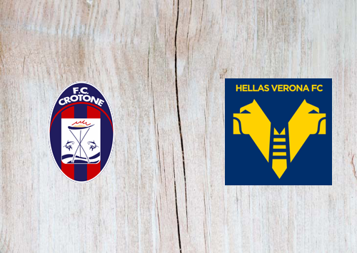 Crotone vs Hellas Verona -Highlights 13 May 2021