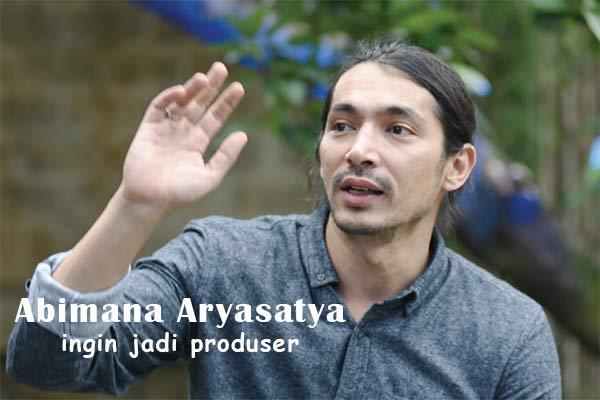 Abimana Aryasatya Jadi Produser Film