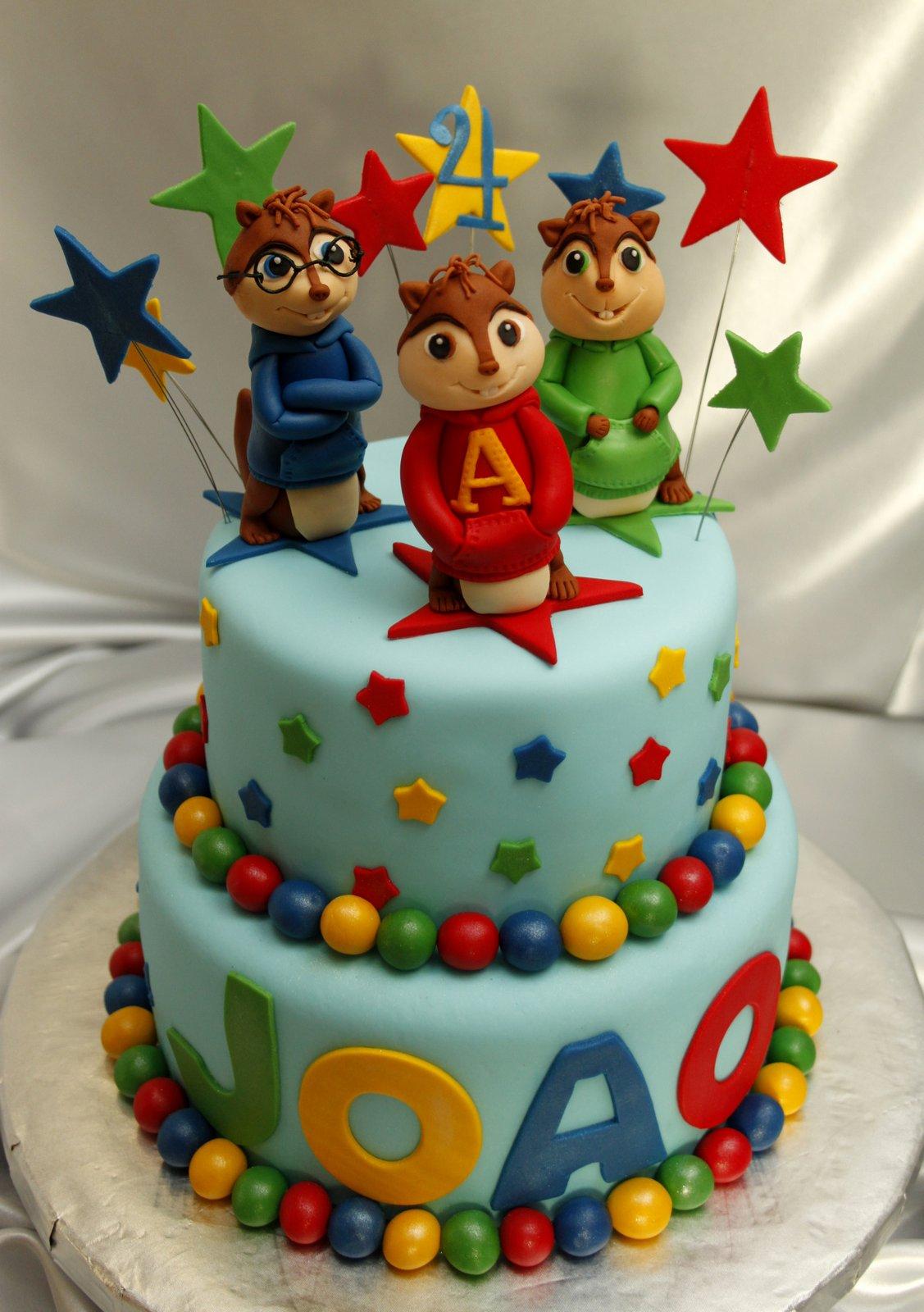 Alvin Birthday Cake