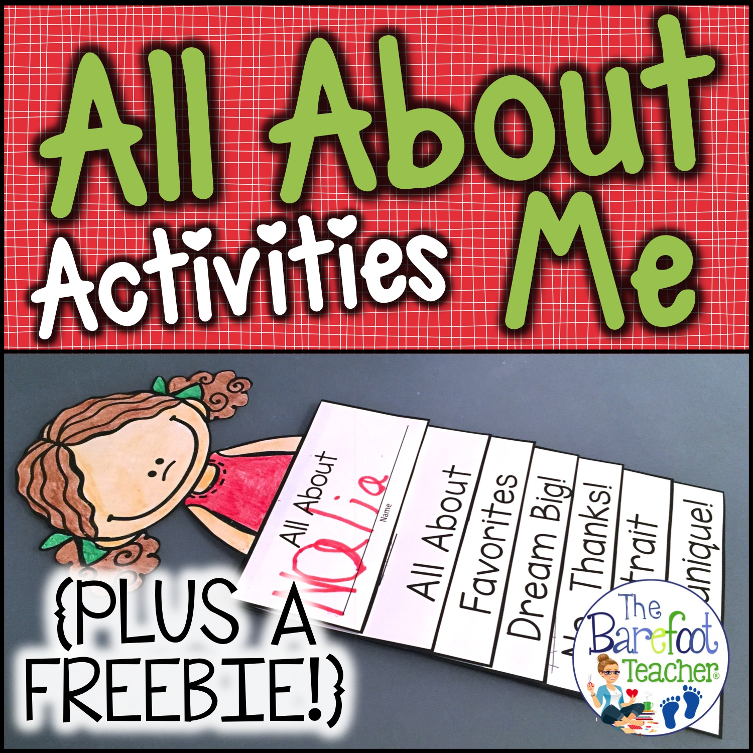 Back To School All About Me Flip Book Activity And A Free
